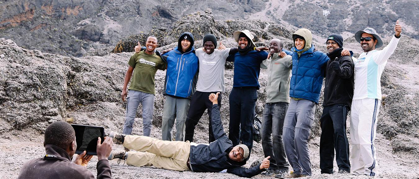 Experience Climbing Mt.Kilimanjaro