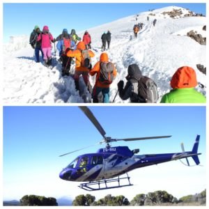 Evacuations by Helicopter -Zara Tours