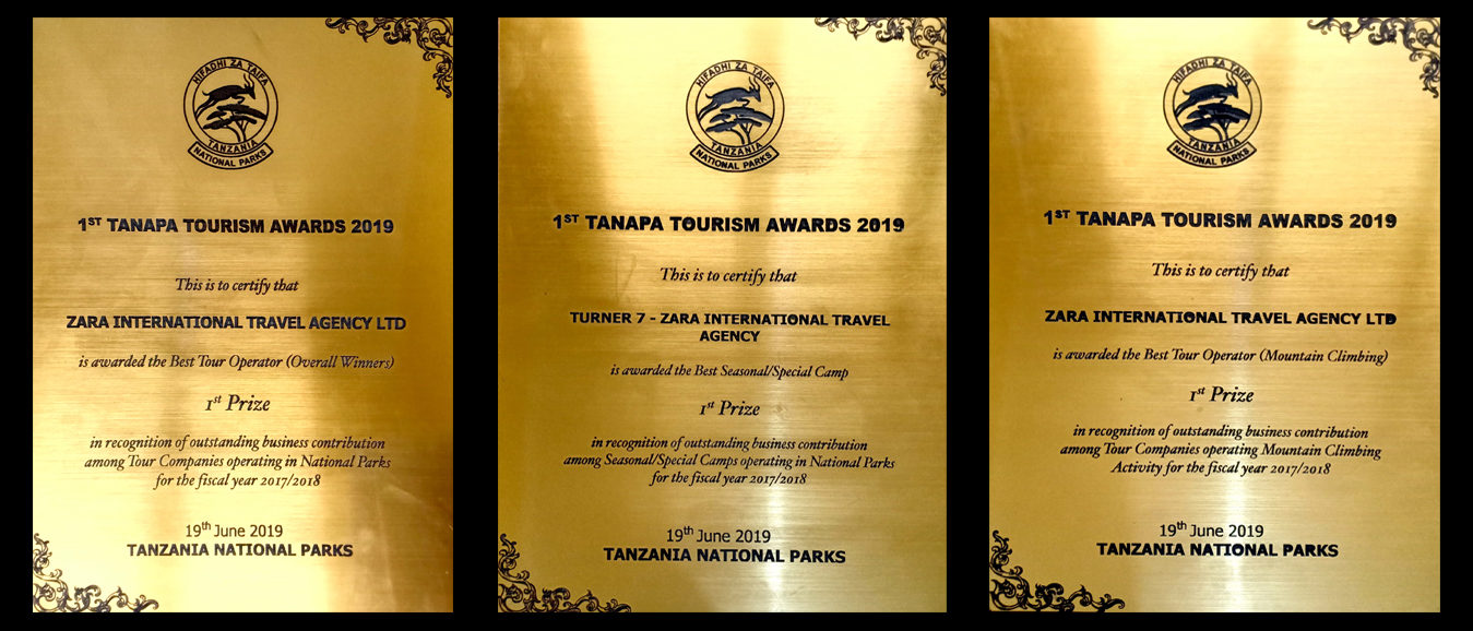 Tanapa awards 2019